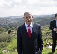 نتنياهو وقادة المستوطنين في الضفة الغربية