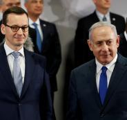 رئيس وزراء بولندا واسرائيل