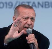 اردوغان والارهابي منفذ  هجوم المسجدين