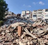 زلزال يضرب ولاية ازمير