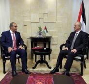 الحمد الله يبحث مع أمين عمان الكبرى تعزيز التعاون المشترك