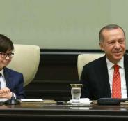 اردوغان يتنحى من منصبه لصالح طفل