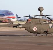 تحطم طائرة عسكرية تونسية