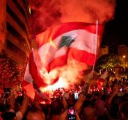 سعد الحريري  والتظاهرات في لبنان
