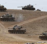 تركيا تنشر الدبابات على الحدود مع سوريا