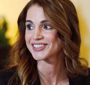 الملكة رانيا والشخصيات الاكثر تأثيرا