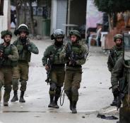 اعتقال فلسطينيين منذ اعلان ترامب