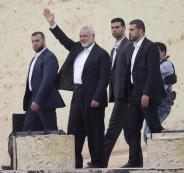 هنية وقطاع غزة واسرائيل