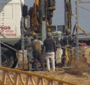 اعمال هندسية للجيش الاسرائيلي على حدود غزة