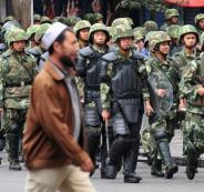 الصين ومسلمي الاويغور