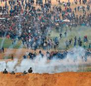 مسيرات في غزة ضد ضم الضفة الغربية