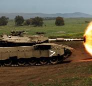 مناورات عسكرية للجيش الاسرائيلي