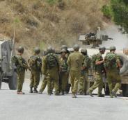 اعتقال الجيش الاسرائيلي على الحدود مع لبنان