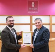 بنك فلسطين وجائزة معايير امن المعلومات