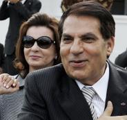 هروب الرئيس التونسي الى السعودية