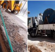 كهرباء القدس تنفذ مشاريع البنية التحتية