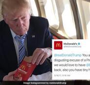 ترامب وماكدونالدز