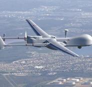 تحطم طائرة تجسس اسرائيلية