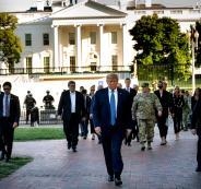 ترامب والجيش  الامريكي