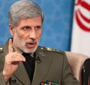 وزير الدفاع الايراني واميركا
