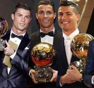 رونالدو يفوز بالكرة الذهبية للمرة الخامسة