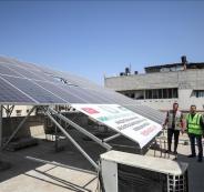 هيئة إغاثية تركيا تفتتح مشروع طاقة شمسية
