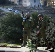 اطلاق النار على شاب فلسطيني شمال رام الله