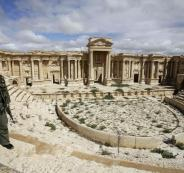 النظام السوري في تدمر