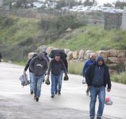 العمال الفلسطينين والضفة الغربية