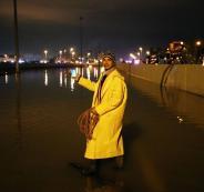 الفيضانات في الكويت