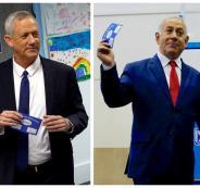 نتنياهو وغانتس واسرائيل