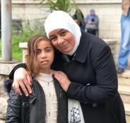 الطفلة انعام العطار من غزة