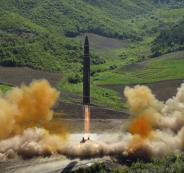 الصواريخ الكورية الشمالية النووية