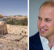 زيارة الامير ويليام الى فلسطين
