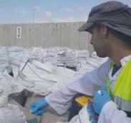 الاحتلال يزعم احباطه عملية تهريب أطنان من المواد المستخدمة في صناعة المتفجرات كانت في طريقها لغزة
