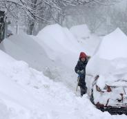 الثلوج في الولايات المتحدة