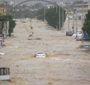 فيضانات في جدة