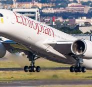 سقوط الطائرة الاثيوبية