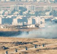 سقوط قذيفة صاروخية بالجولان وإسرائيل ترد بالقصف