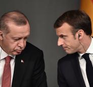 اردوغان وفرنسا
