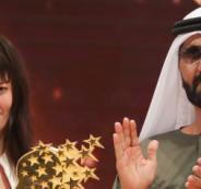 كندية تحصد لقب أفضل معلمة في العالم.. وحاكم دبي يكافئها