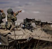 الجيش الاسرائيلي في الجولان السوري