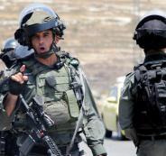 الجيش الاسرائيلي يلاحق الفلسطينيين