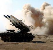 اسقاط طائرة اسرائيلية في سوريا