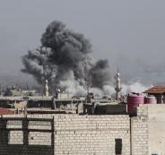 قصف على ادلب