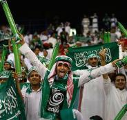 المنتخب الفلسطيني والمنتخب السعودي
