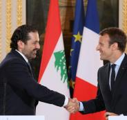 سعد الحريري في فرنسا