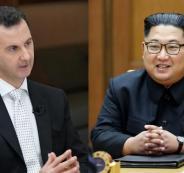 بشار الأسد وسوريا وكوريا الشمالية