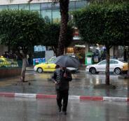 امطار في فلسطين