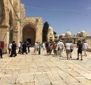 المستوطنين والمسجد الأقصى